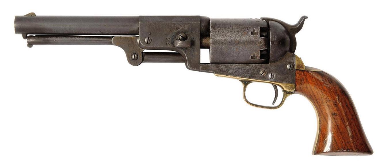 A .44 HARTFORD-LONDON 'MODEL 1848' SIX-SHOT SINGLE-ACTION PERCUSSION DRAGOON REVOLVER
