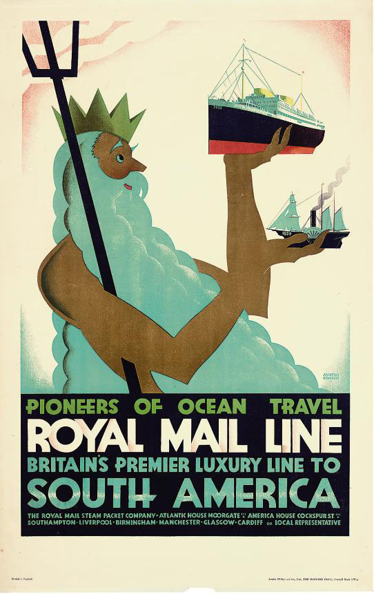 ROYAL MAIL LINE, SOUTH AMERICA