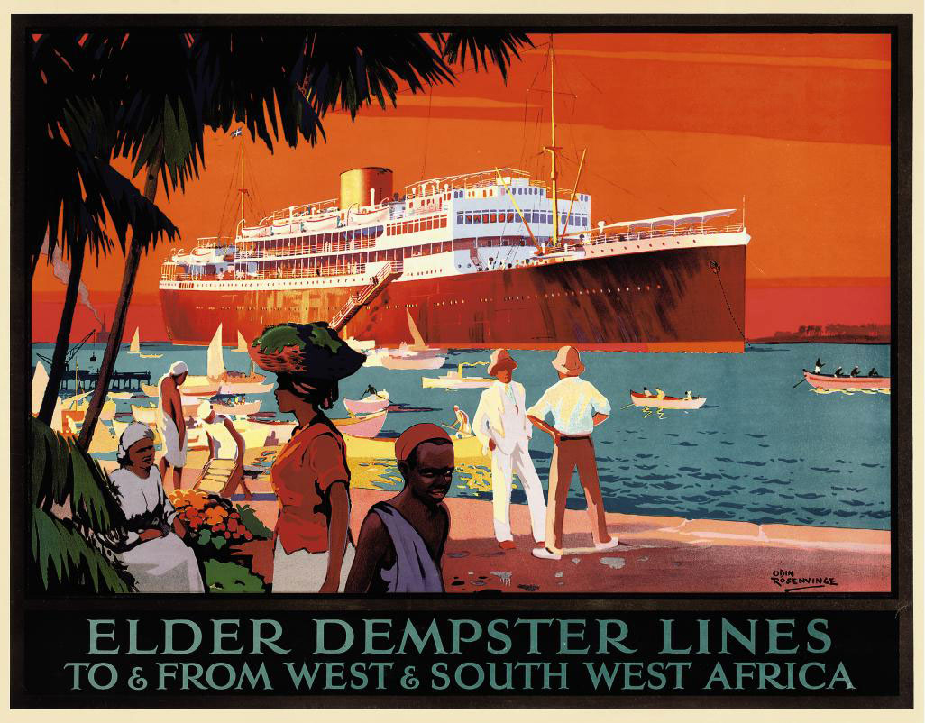 ELDER DEMPSTER LINES, WEST & SOUTH WEST AFRICA