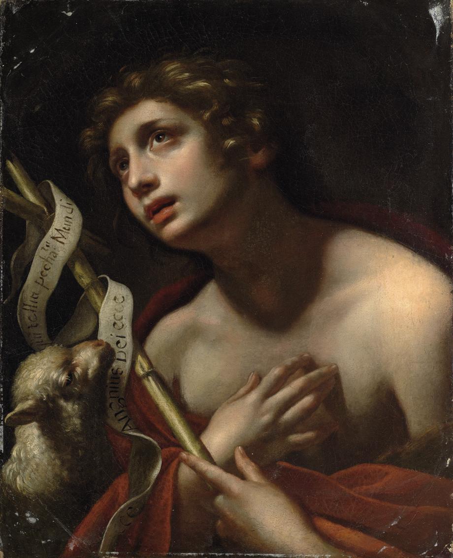 Saint John the Baptist with the Lamb of God
