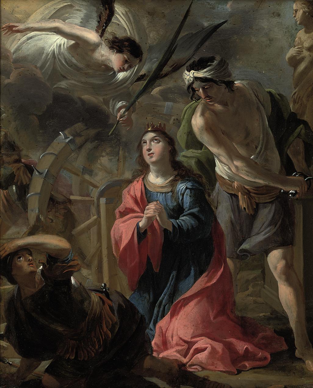 The Martyrdom of Saint Catherine of Alexandria