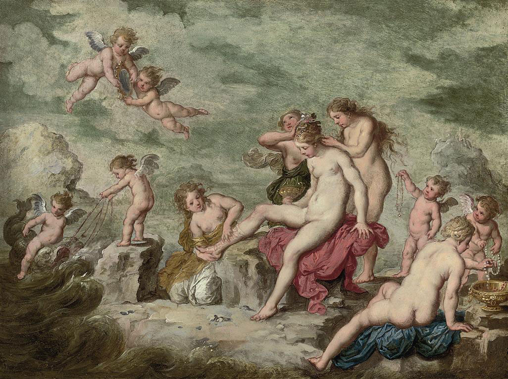 Venus at her toilet