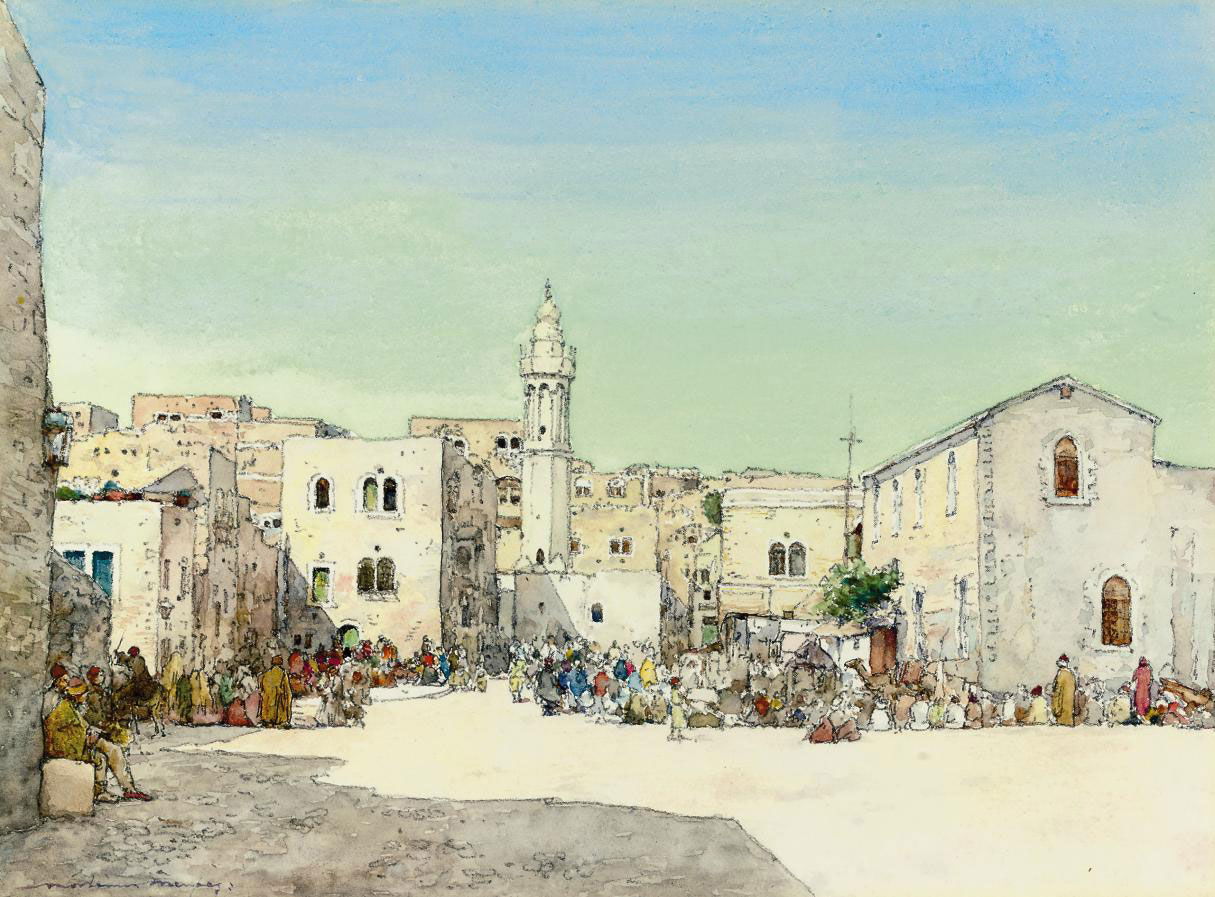 A square in Bethlehem