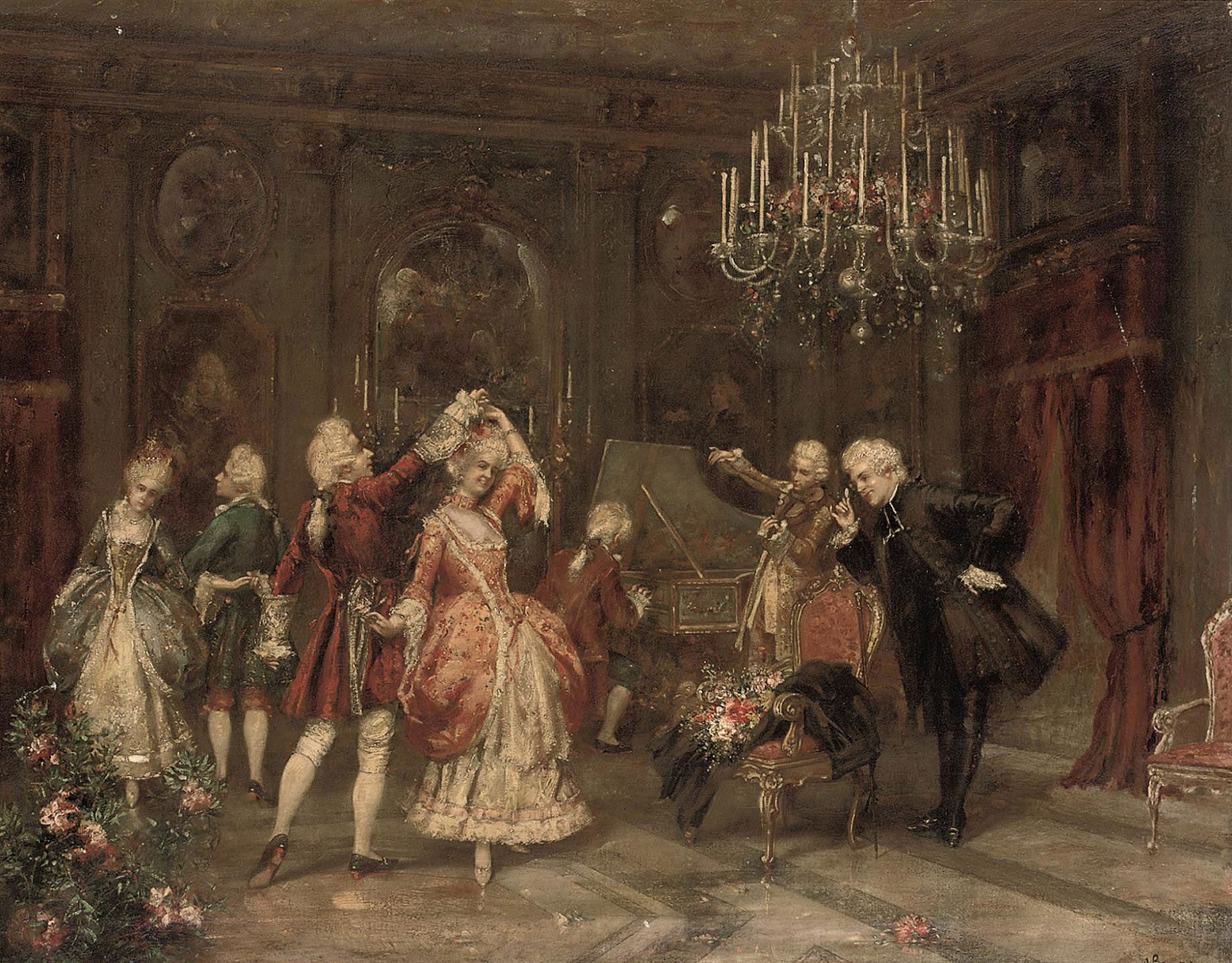 An elegant soiree