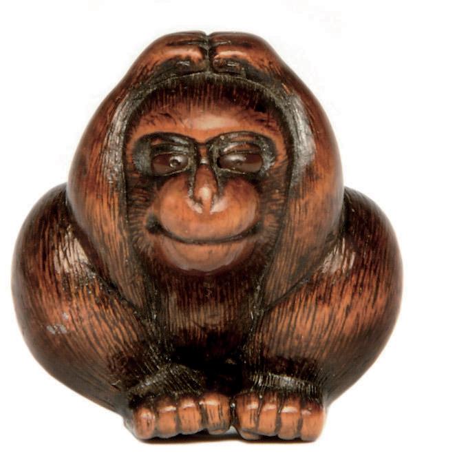 A Wood Netsuke