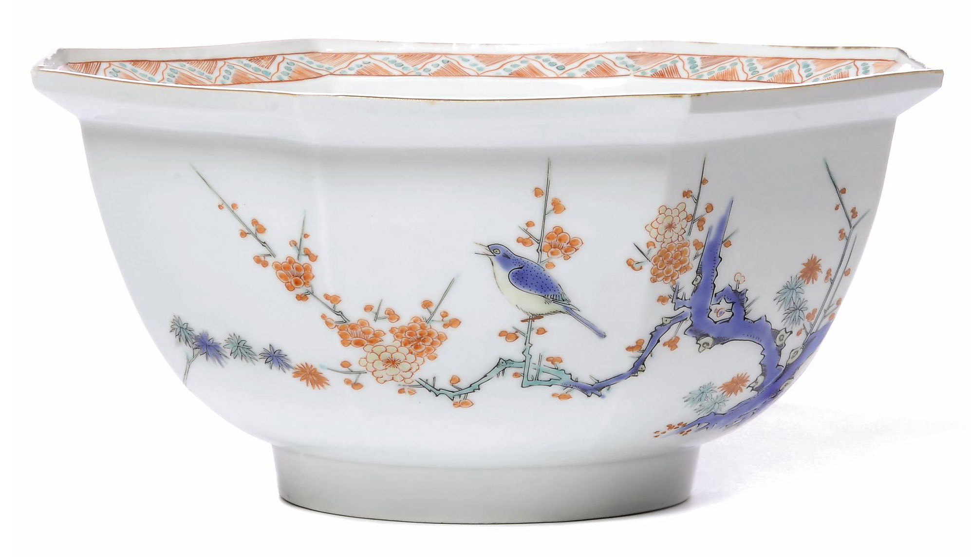 A Fine Hexagonal Kakiemon Bowl