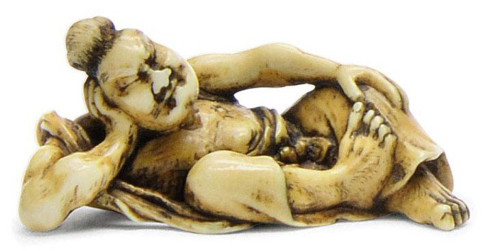 An Ivory Netsuke