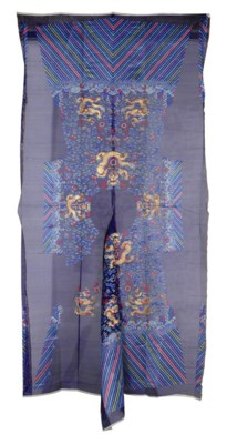 AN UNCUT EMBROIDERED SUMMER CH