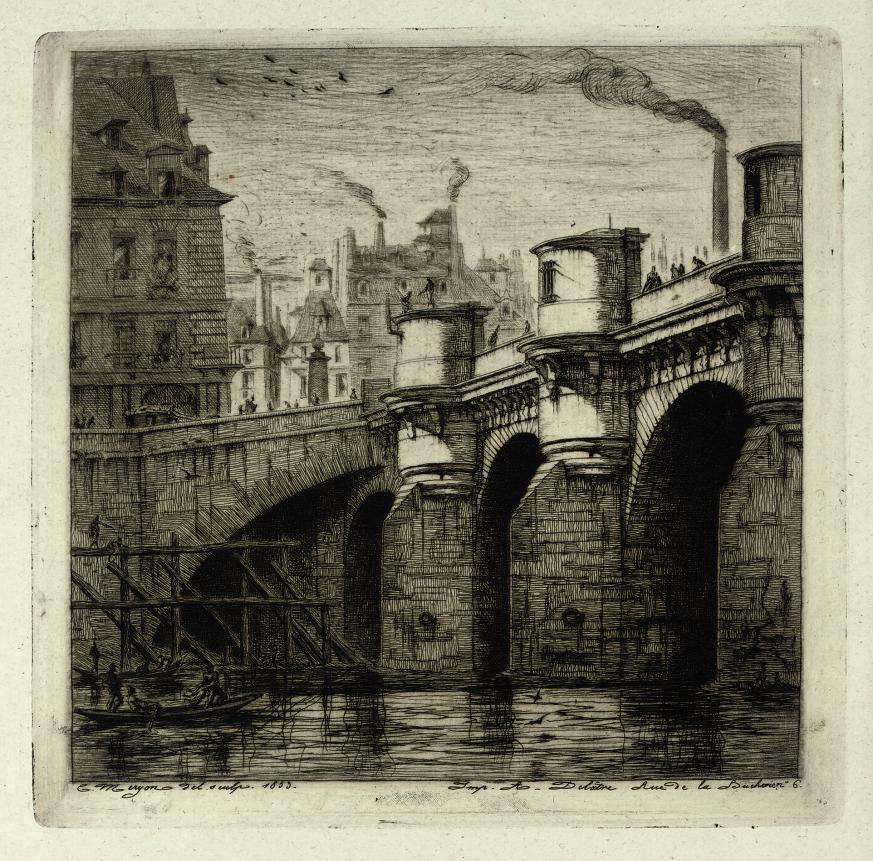 Le Pont Neuf (Delteil & Wright 33)
