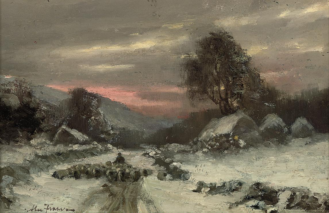 A winter's evening, near Park