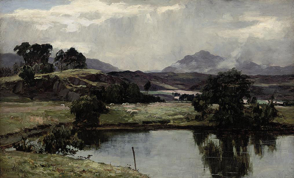 A peaceful day in the Highlands