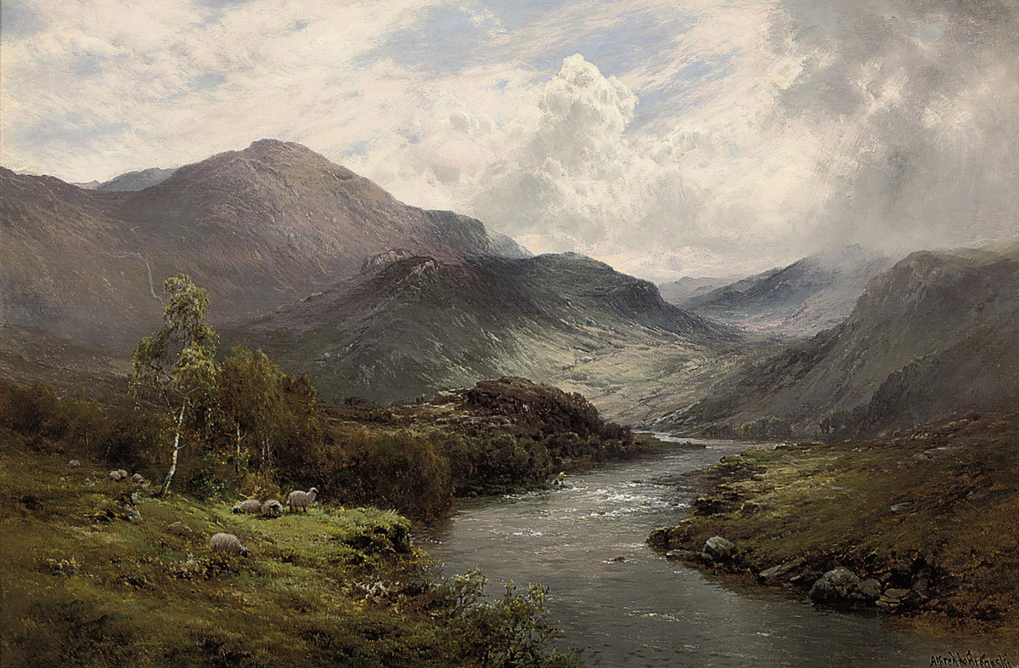 The Valley of the Teith