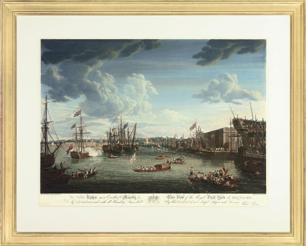 View of London taken from Albion Place, Blackfryars Bridge