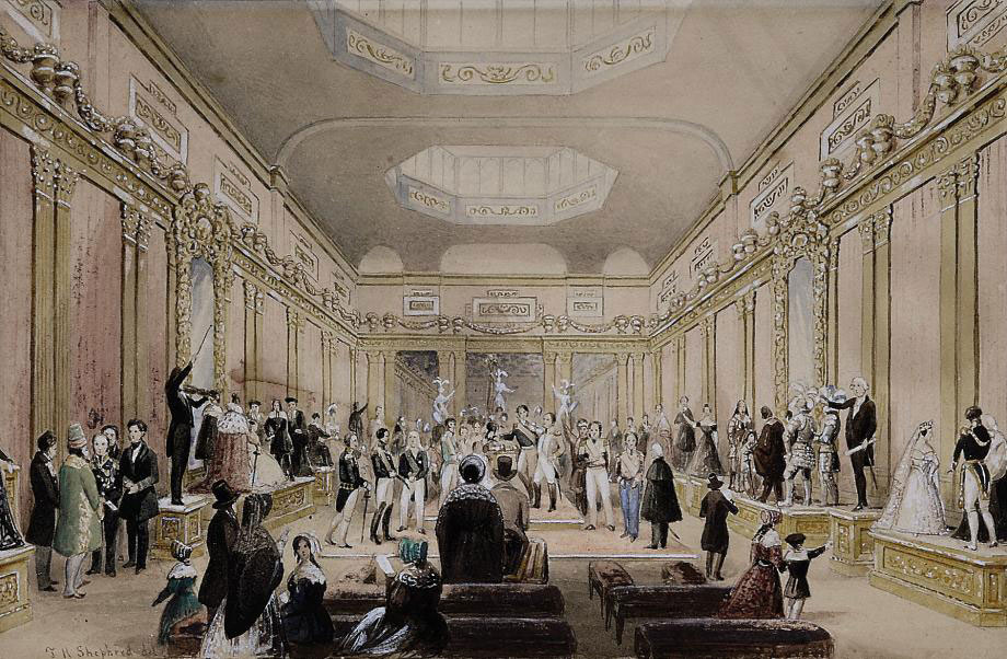 Madame Tussaud's exhibition, Baker Street, London
