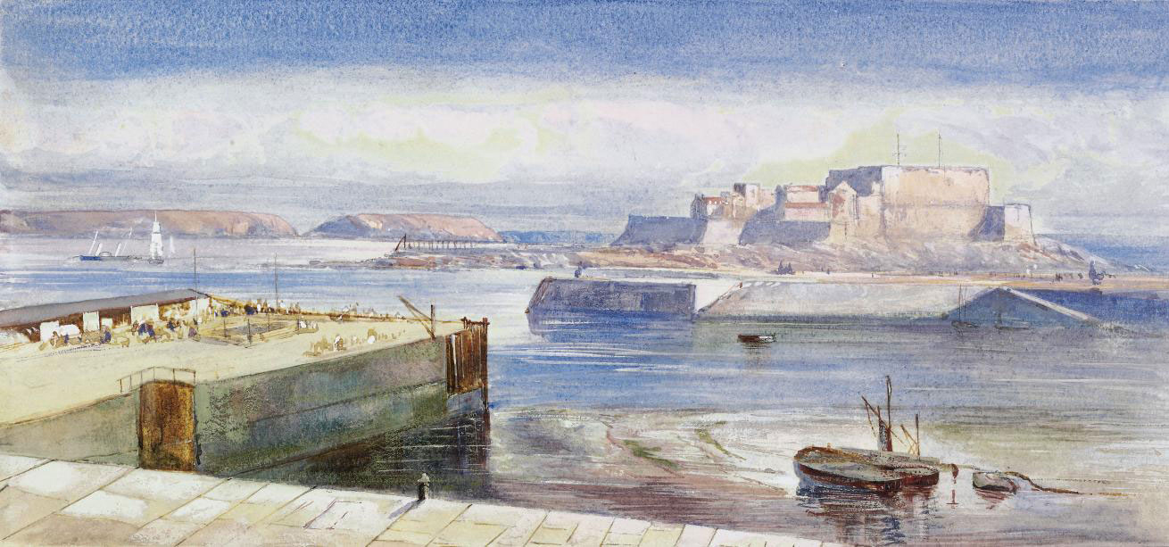 View of Castle Cornet, Guernsey