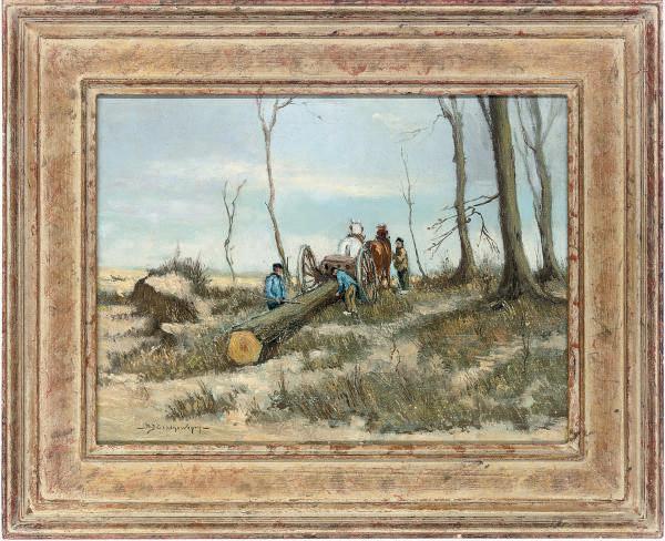 The log cart