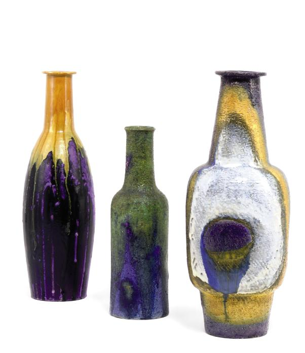 THREE VASES BY MARCELLO FANTONI (B. 1915)