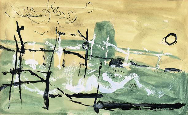 The flood, February '53