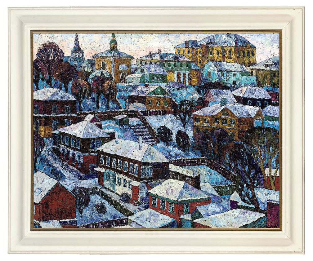 Winter in Vladimir, Russia