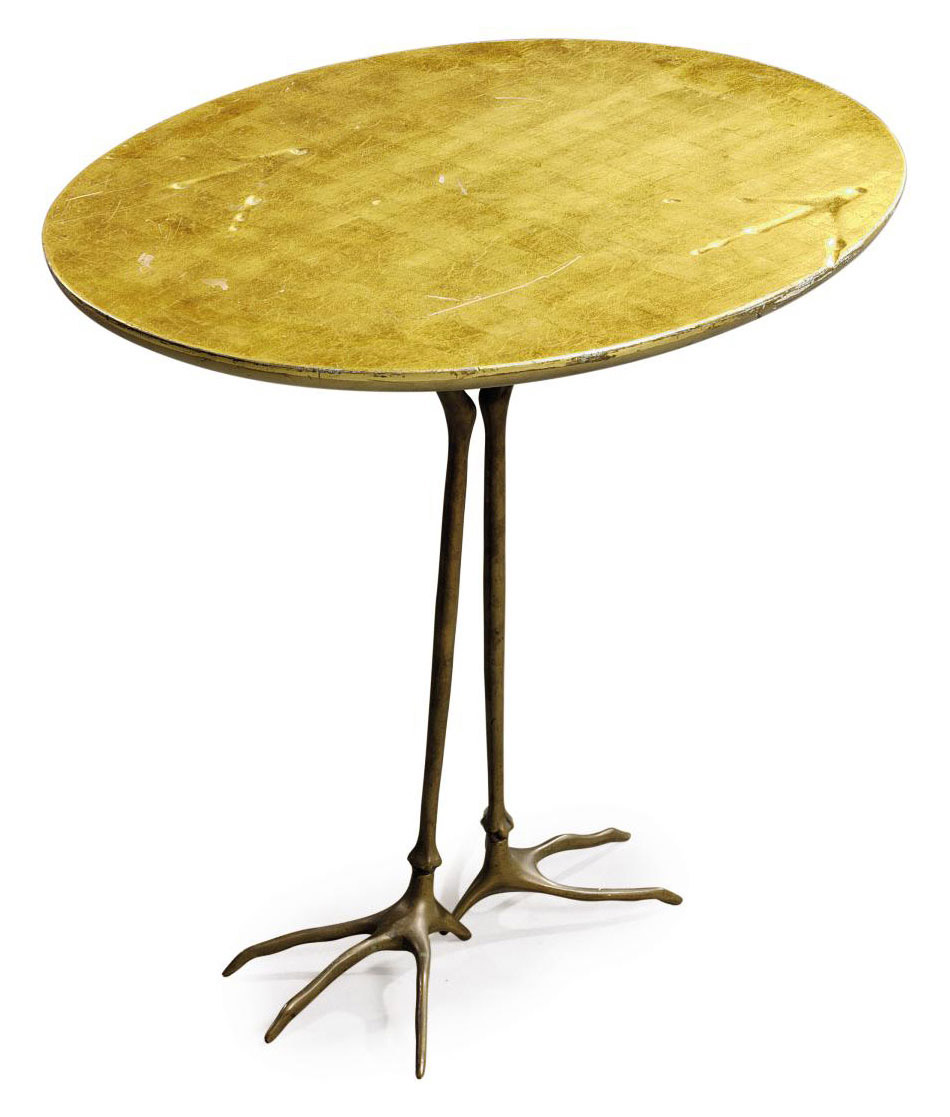 A MERET OPPENHEIM 'TRACCIA' OCCASIONAL TABLE
