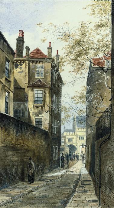 High Holburn looking towards Gray's Inn