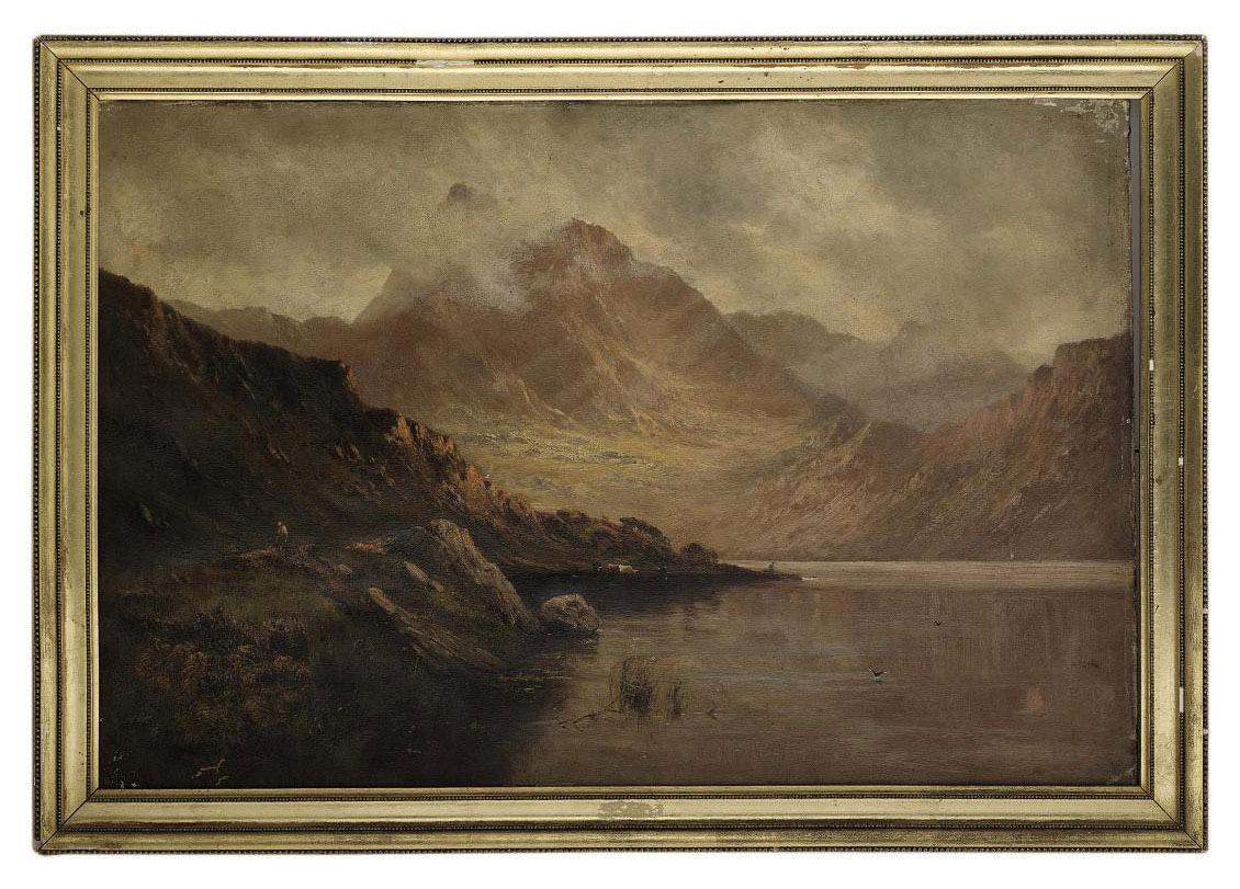Llyn Ogwen, North Wales; and Llyn Gwynant, North Wales