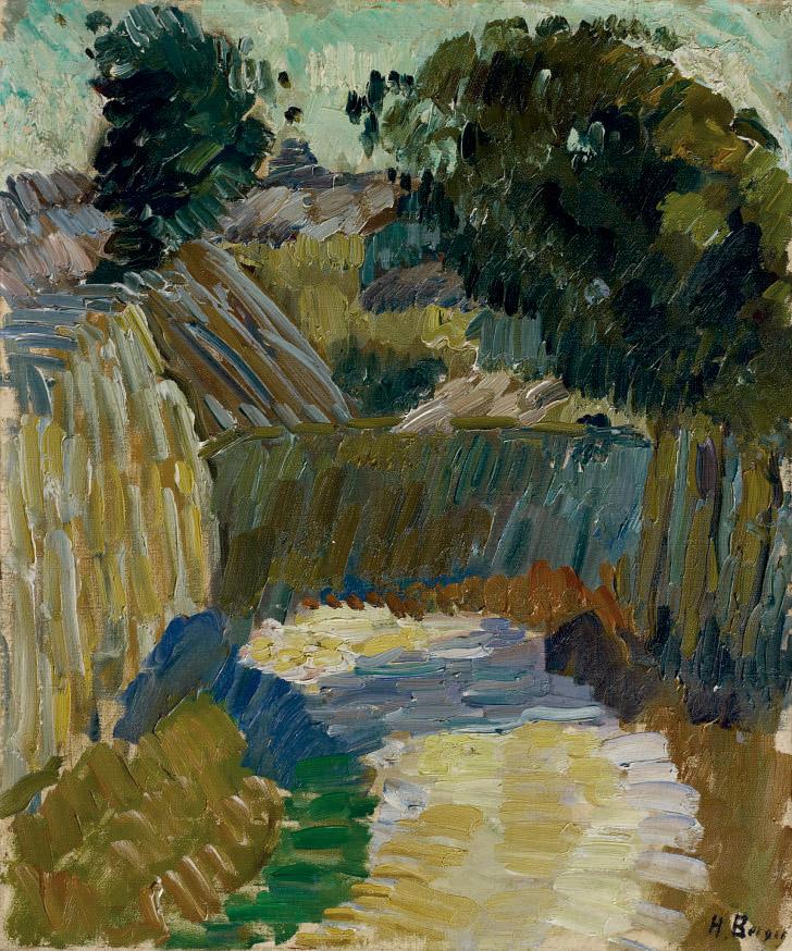 Soleil en novembre, 1909