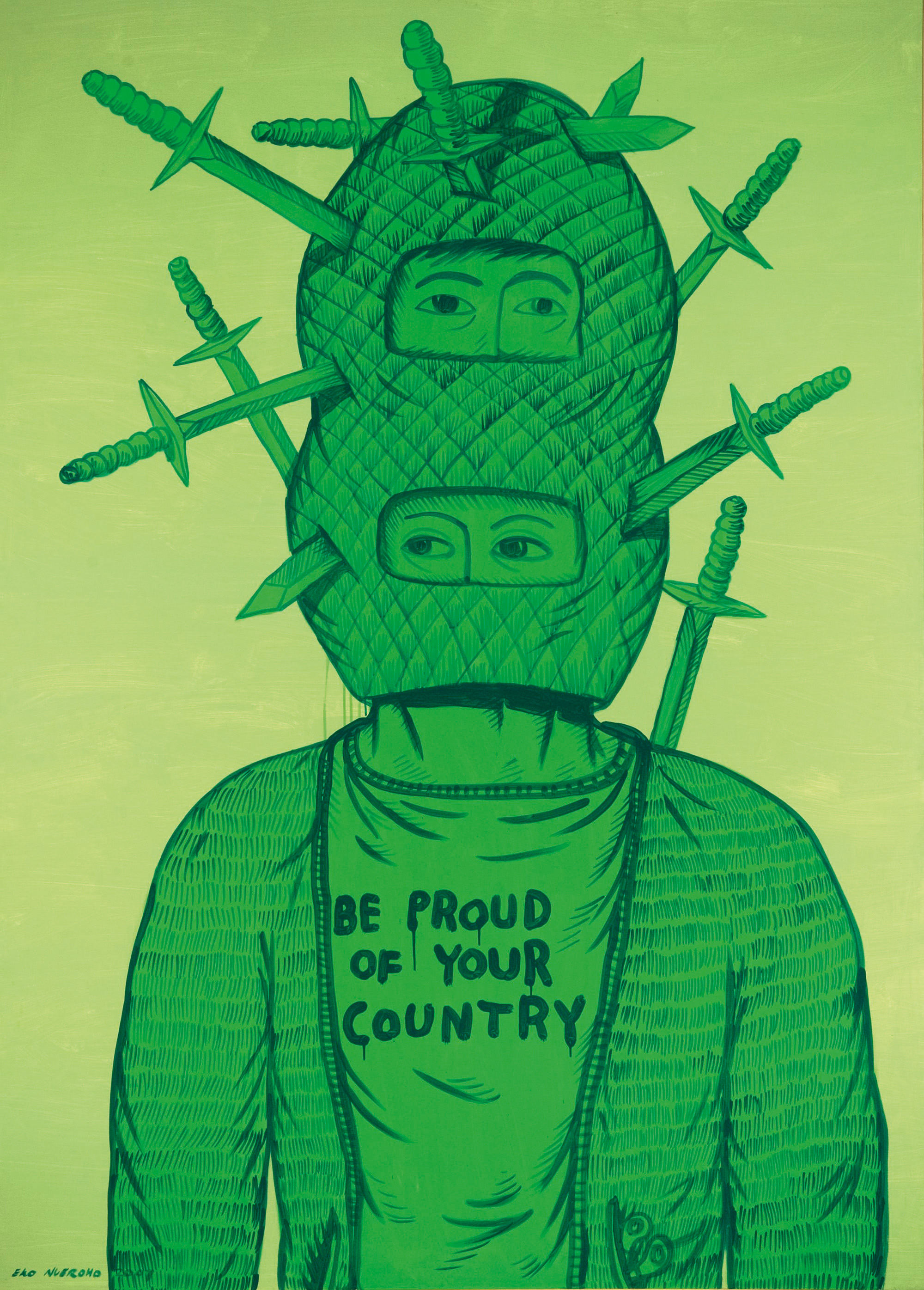 Be proud of your country