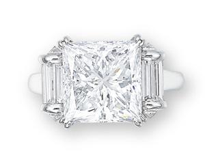 A DIAMOND RING, BY MAUBOUSSIN