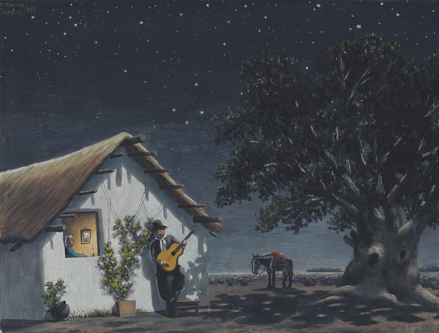 La serenata  (also known as 'Bajo la cruz del sud')