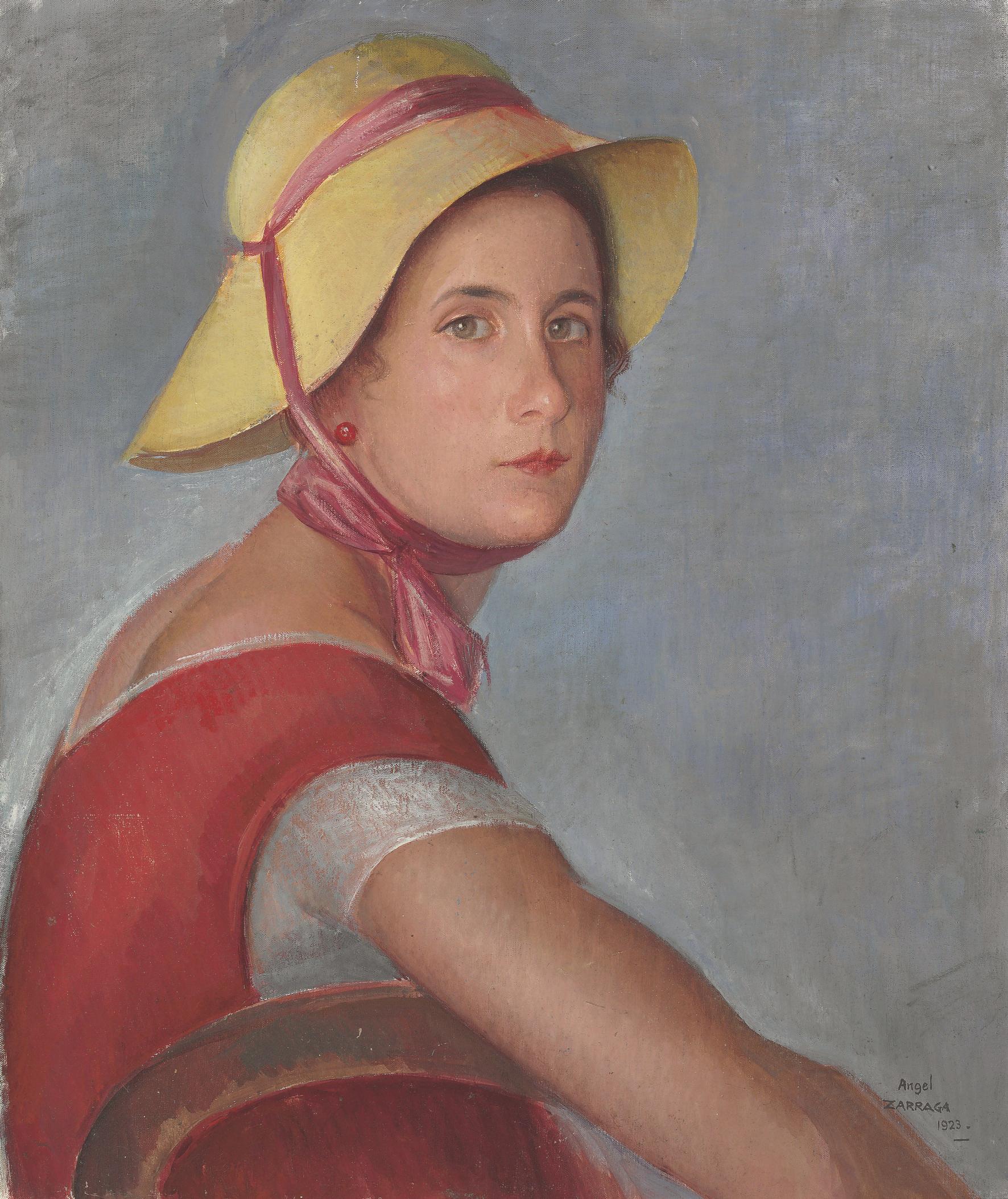 Femme au Chapeau (Portrait of Jeannette Ivanoff)