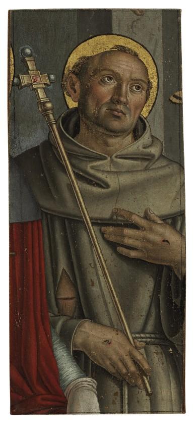 Saint Francis, a fragment