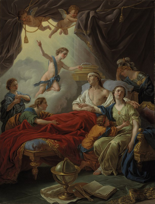 The Death of the Dauphin