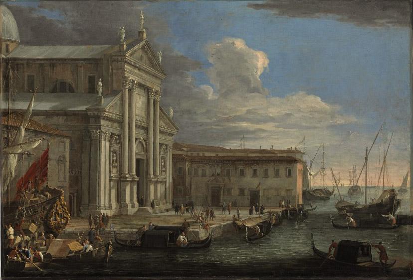 The Church of San Giorgio Maggiore and the Grand Canal, Venice