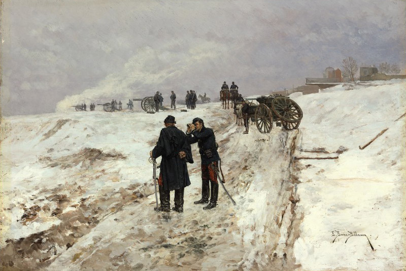 An Incident in the Franco-Prussian war