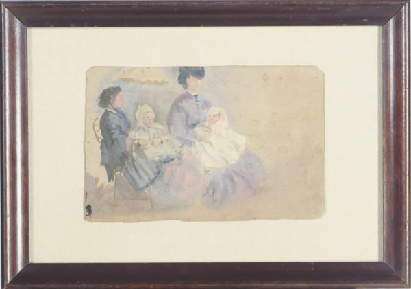 Nannies in the park; and three companion works