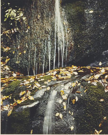 Waterfall, Iceland, 1972