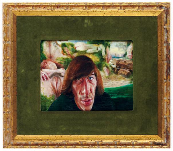 Portrait of the artist Cornelis Doolaard