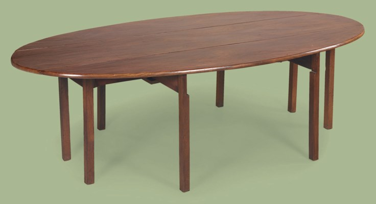 An irish george iii mahogany wake table late 18th for Th 37px60b table top stand