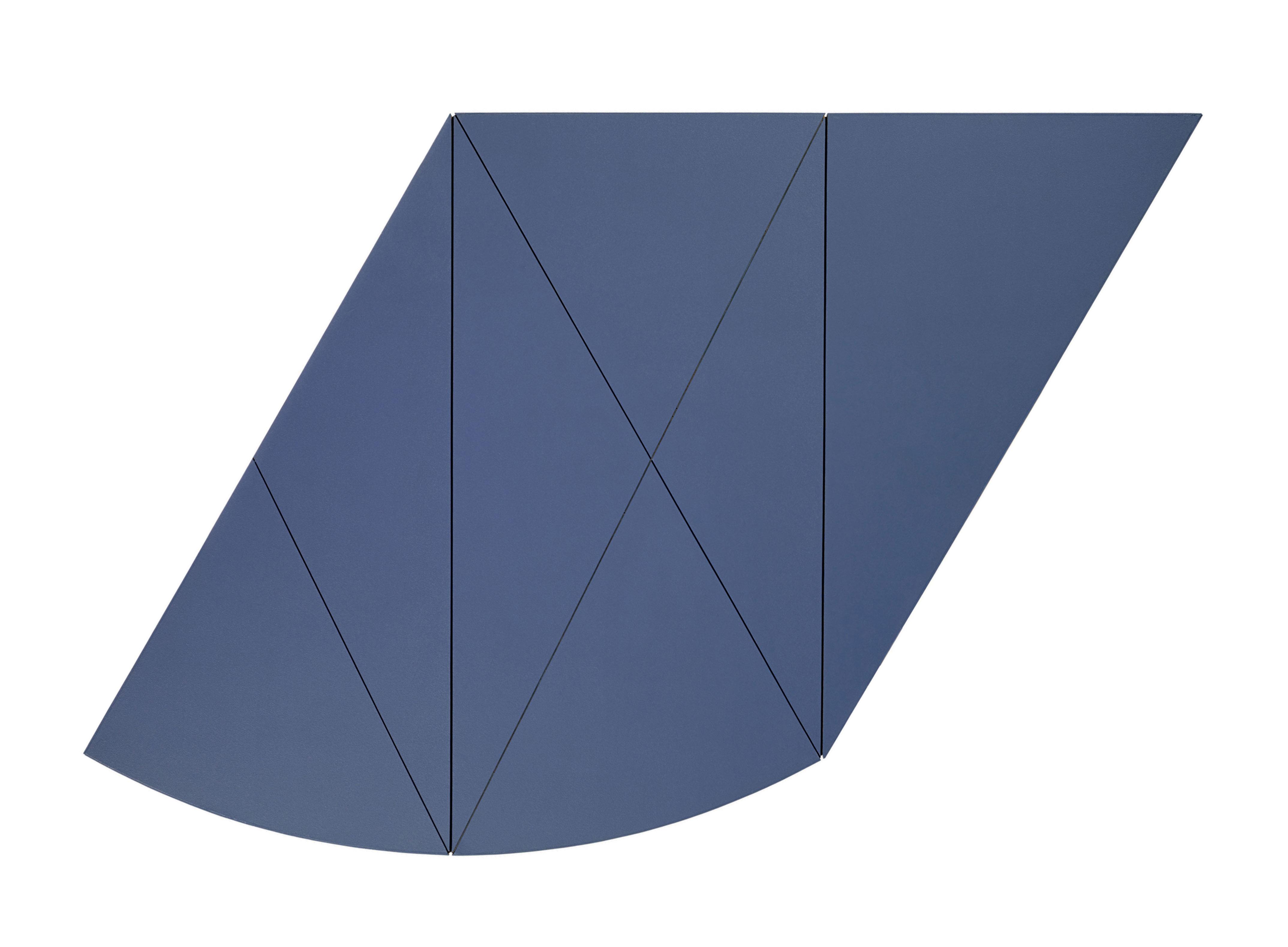 X Series Central Diagonal I (Blue)