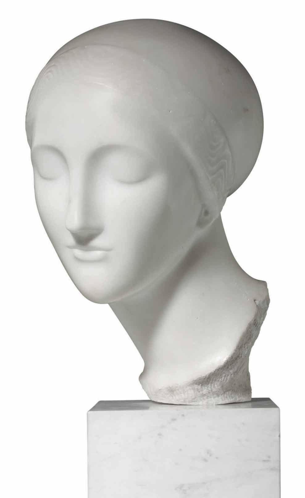 Early Ideal Head (La Mysterieuse)