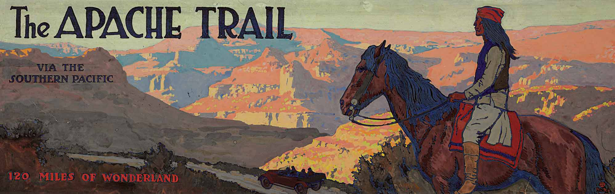 The Apache Trail Via The Southern Pacific