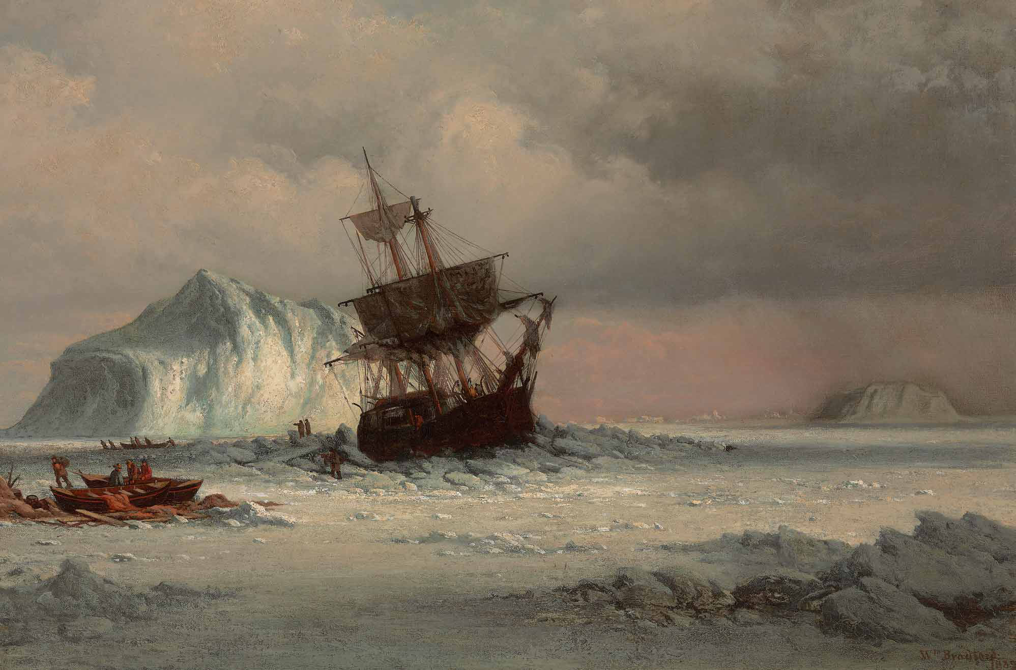 Caught in the Ice Floes