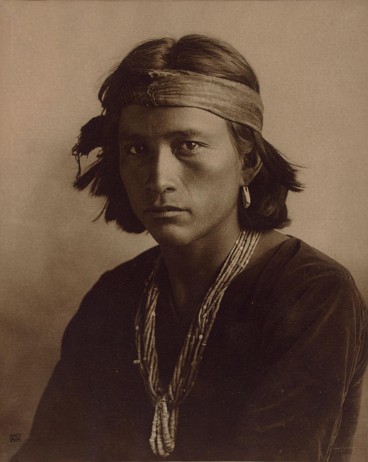A Navajo Boy, 1907