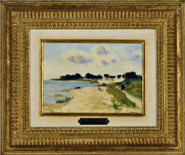La Promenade; and a companion painting