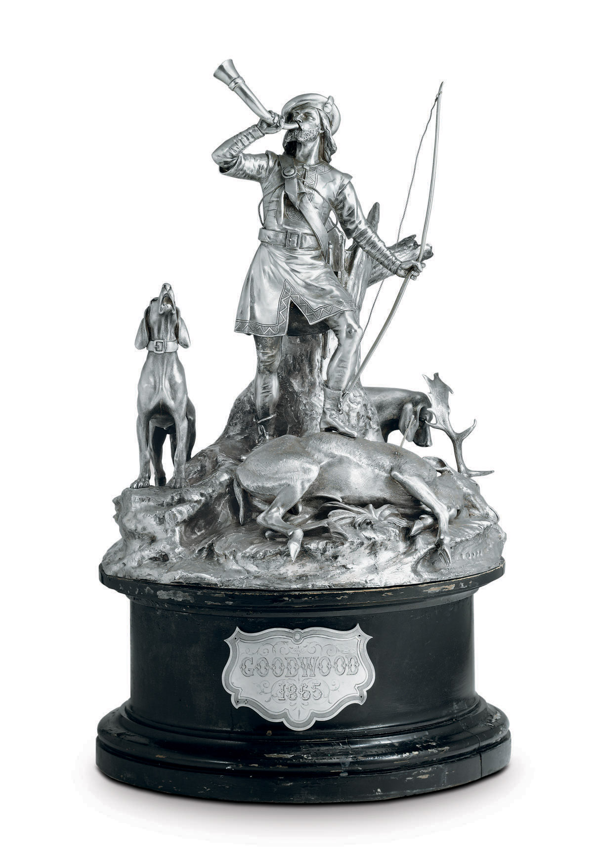 THE STEWARDS' CUP, GOODWOOD 1865: A VICTORIAN SILVER RACING TROPHY
