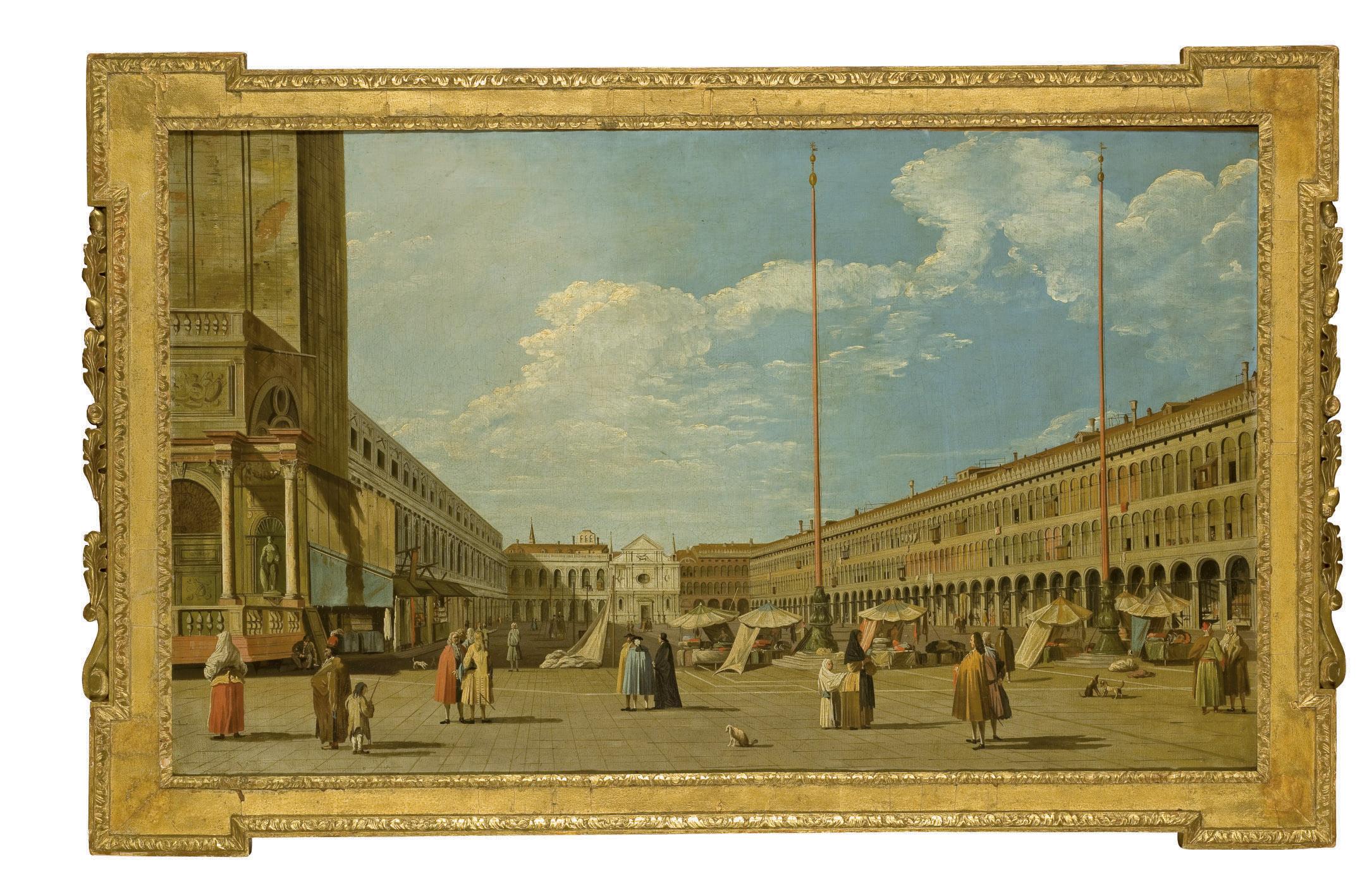 La place Saint Marc avec l'église San Geminiano et les Procuraties
