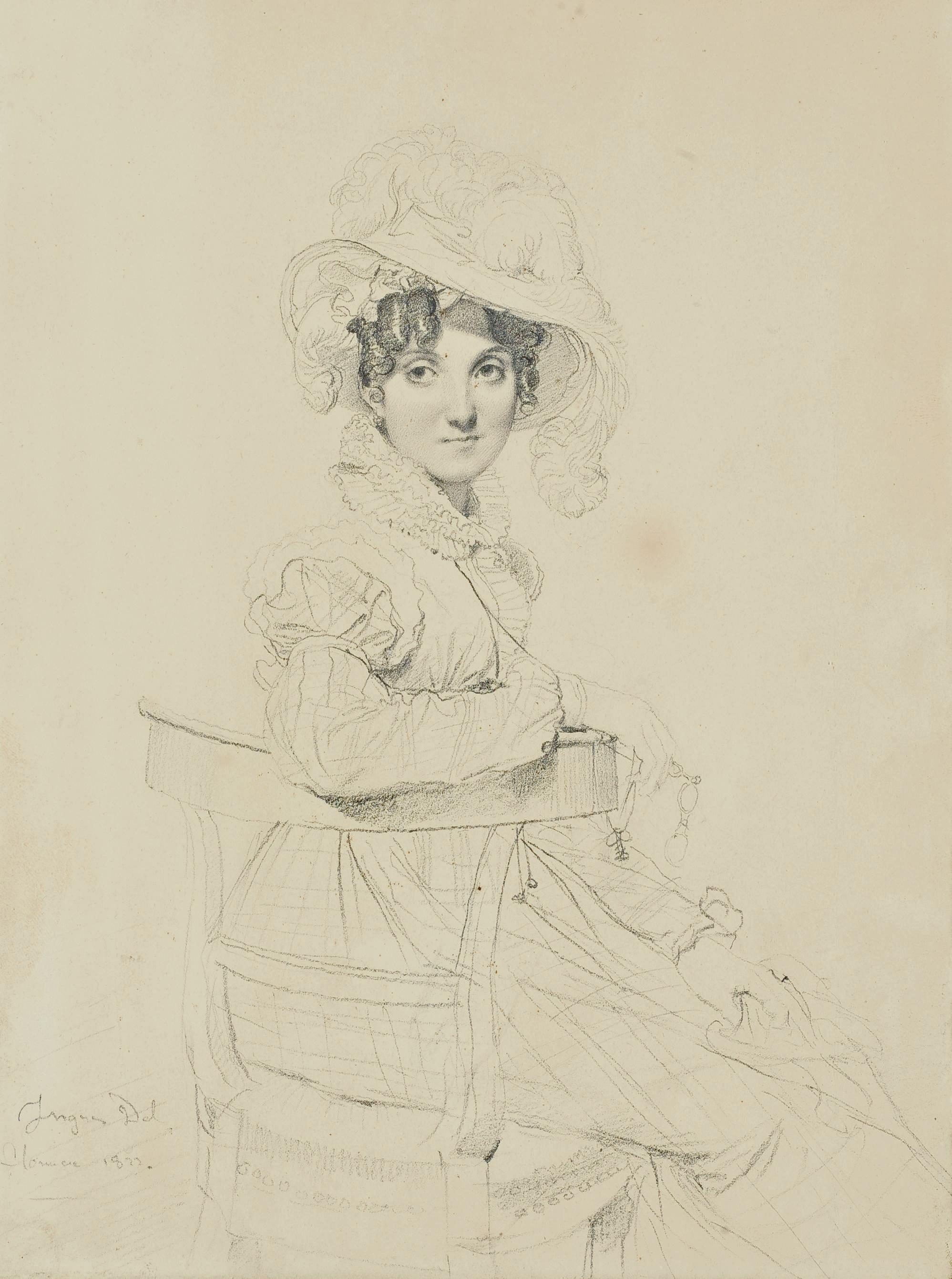 Portrait de la Comtesse Amédée de Pastoret, née Alphonsine Alexandre de Neufermeil de Montry