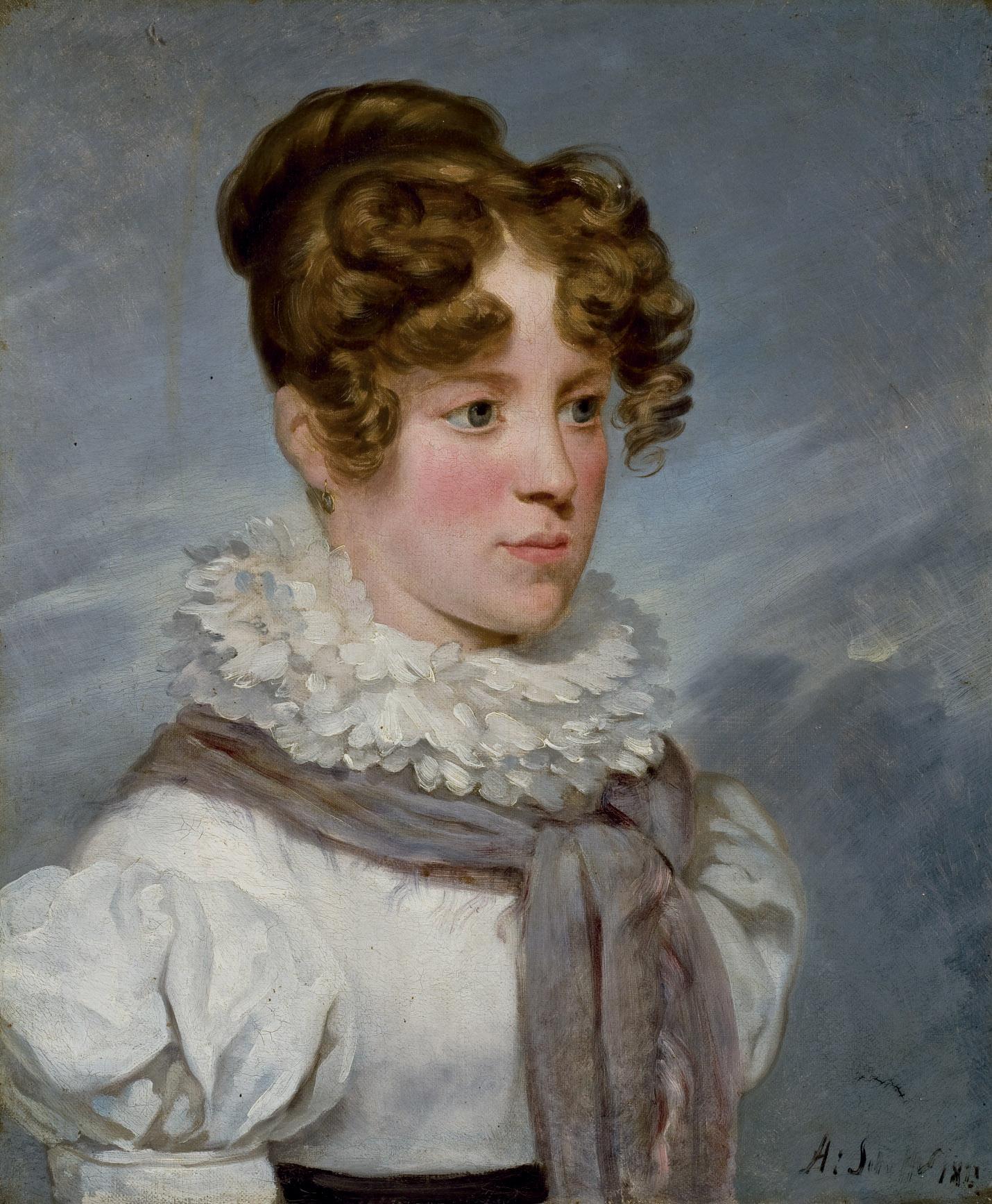 Portrait de Clémentine de Brigode, née de La Tour Maubourg