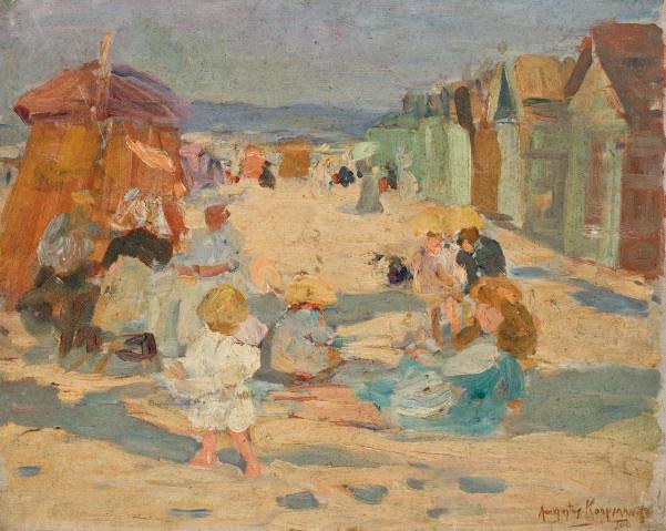 Sur la plage (et deux autres oeuvres)